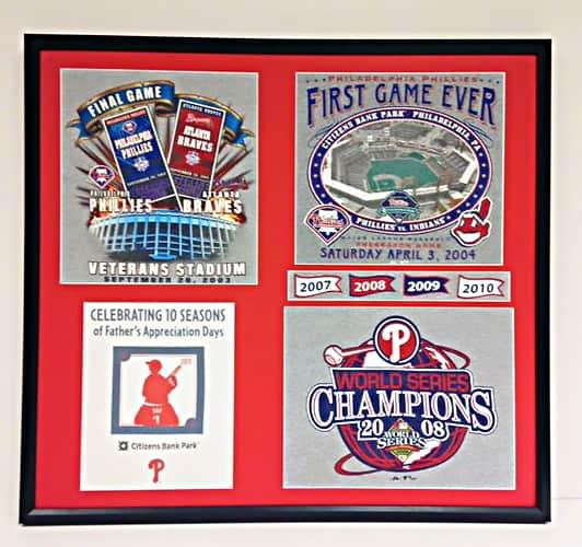 baseball memories picture frame