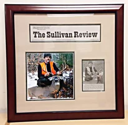 The Sullivan Review hunting sports frame