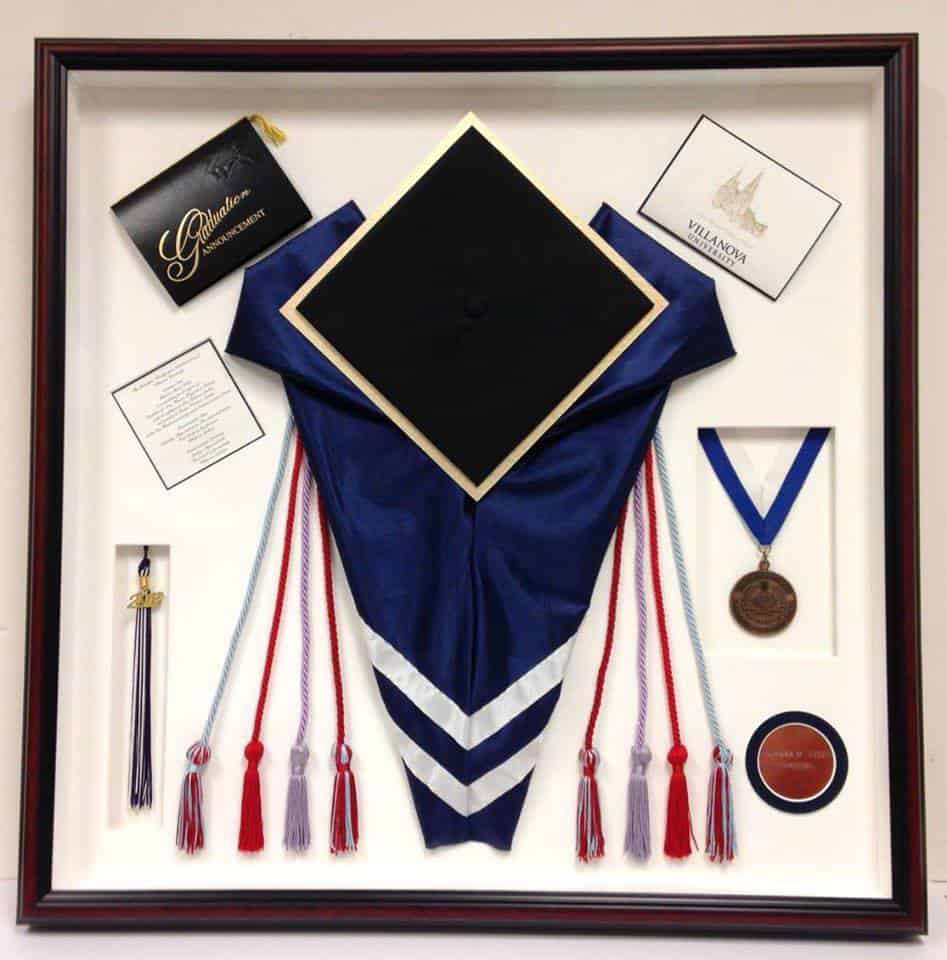 college graduation shadowbox