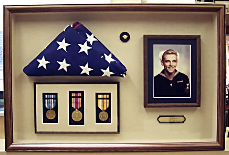 framed-military