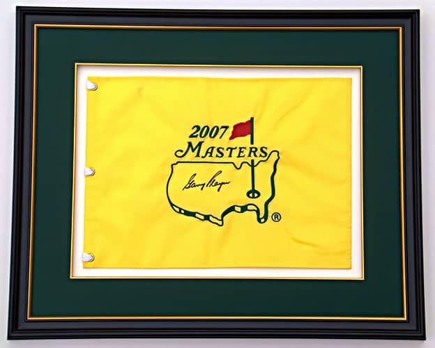 2007 Masters sports frame
