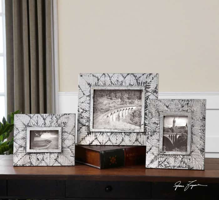 set of 3 small picture frames